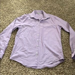 Other - Light purple button down shirt